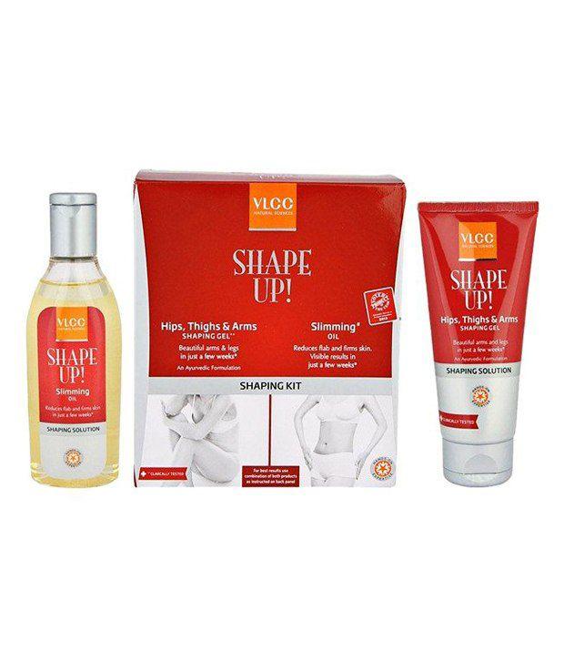 VLCC Shape Up HTA & Slimming Oil Shaping Kit - 100 ml: Buy ...