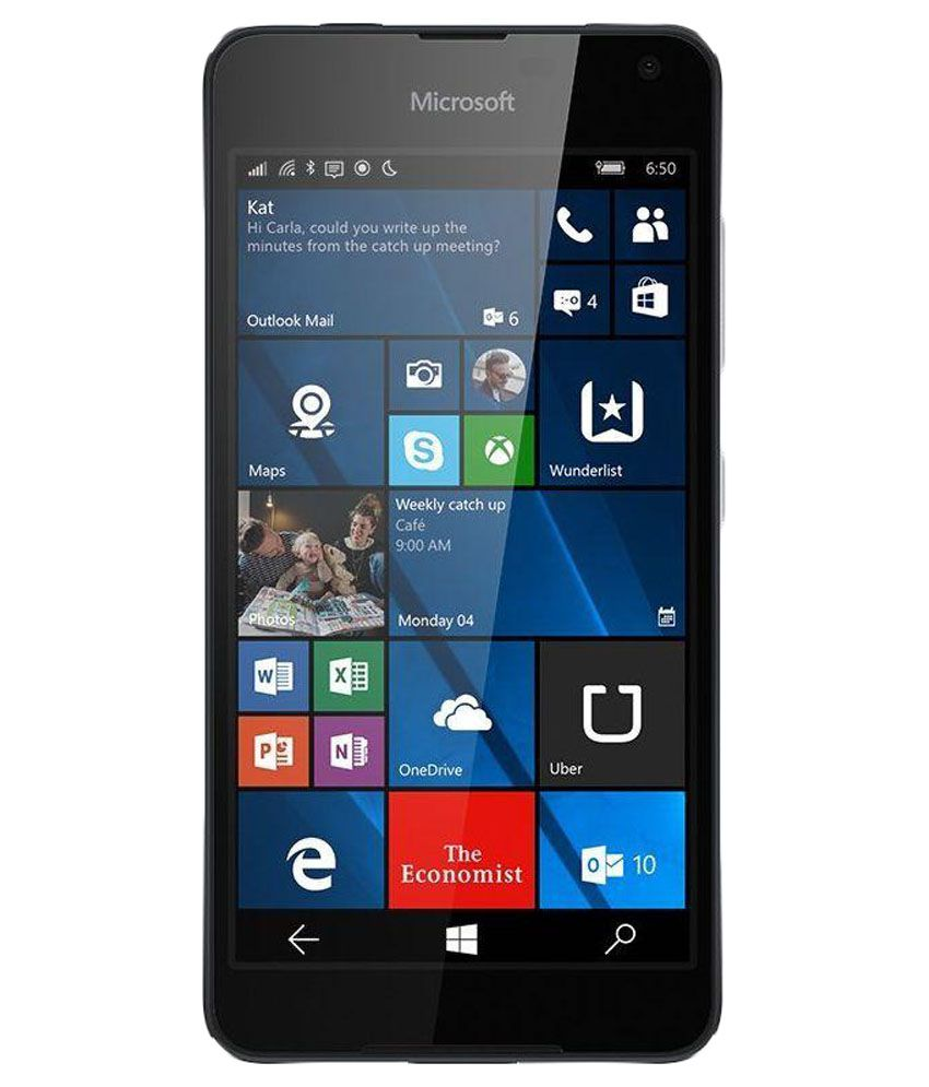 Microsoft Lumia 650 ( 16GB , 1 GB ) Black