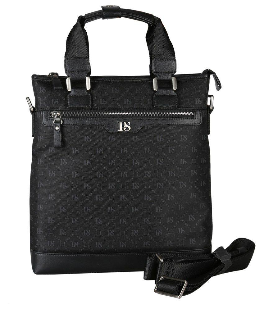 Premium Sonada Black Messenger Bag