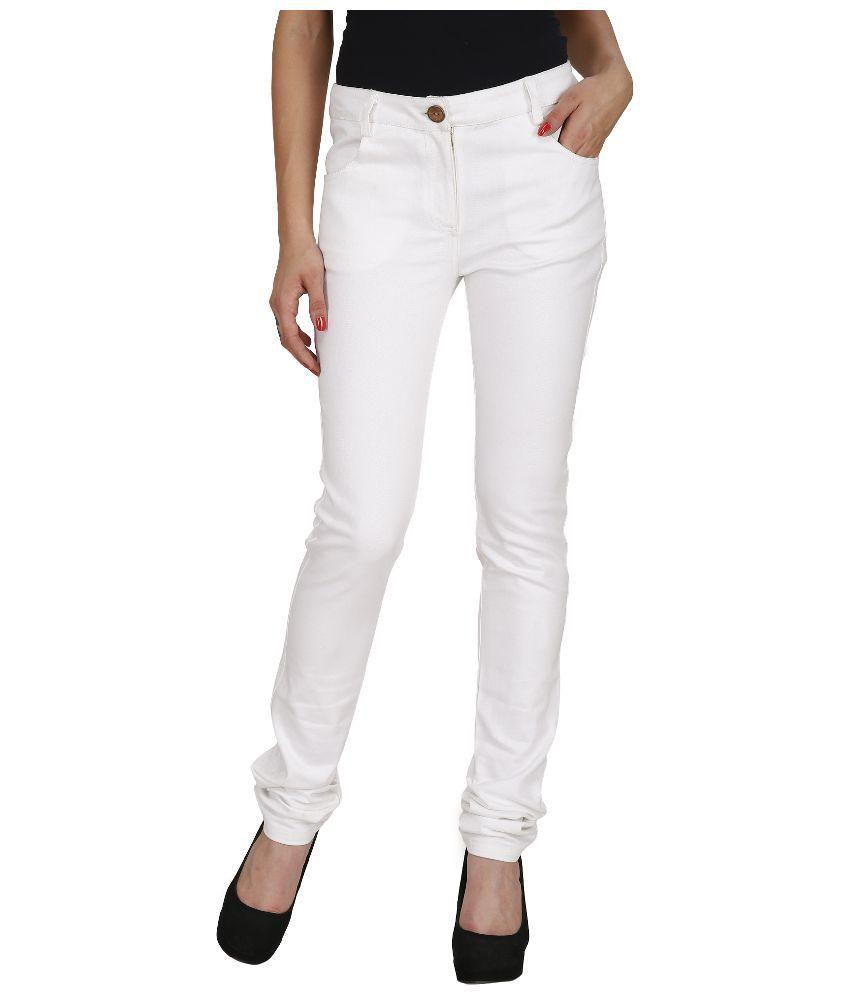 Ragdoll White Denim Jeans
