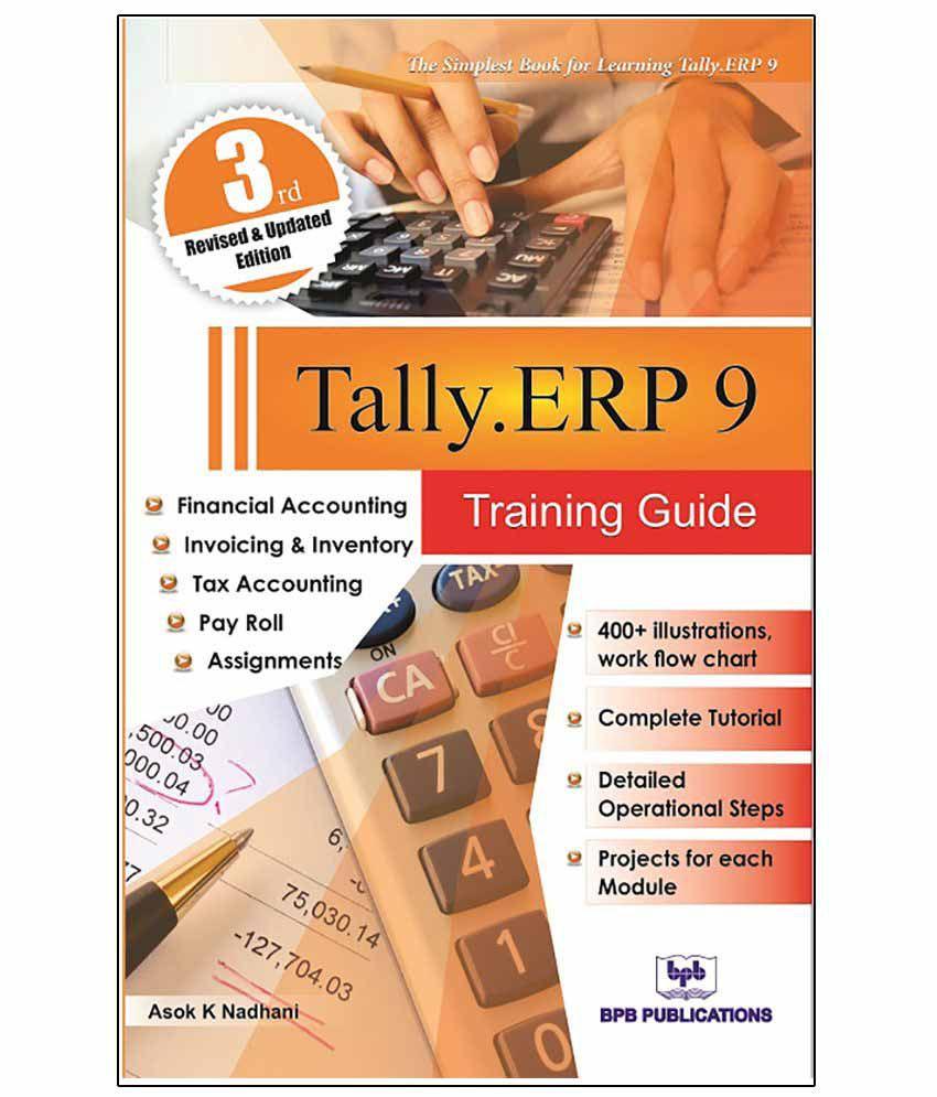 Tally ERP 9 Training guide English Third Edition