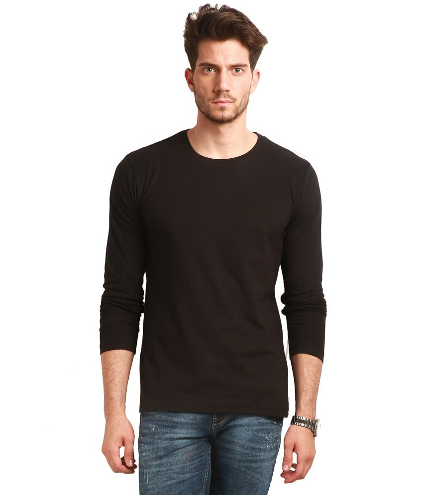 Change360Deg Black Round T Shirts