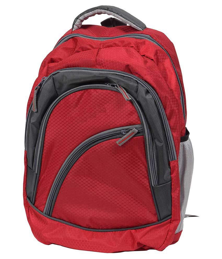 FIPPLE Red Laptop Bag For HP Laptops