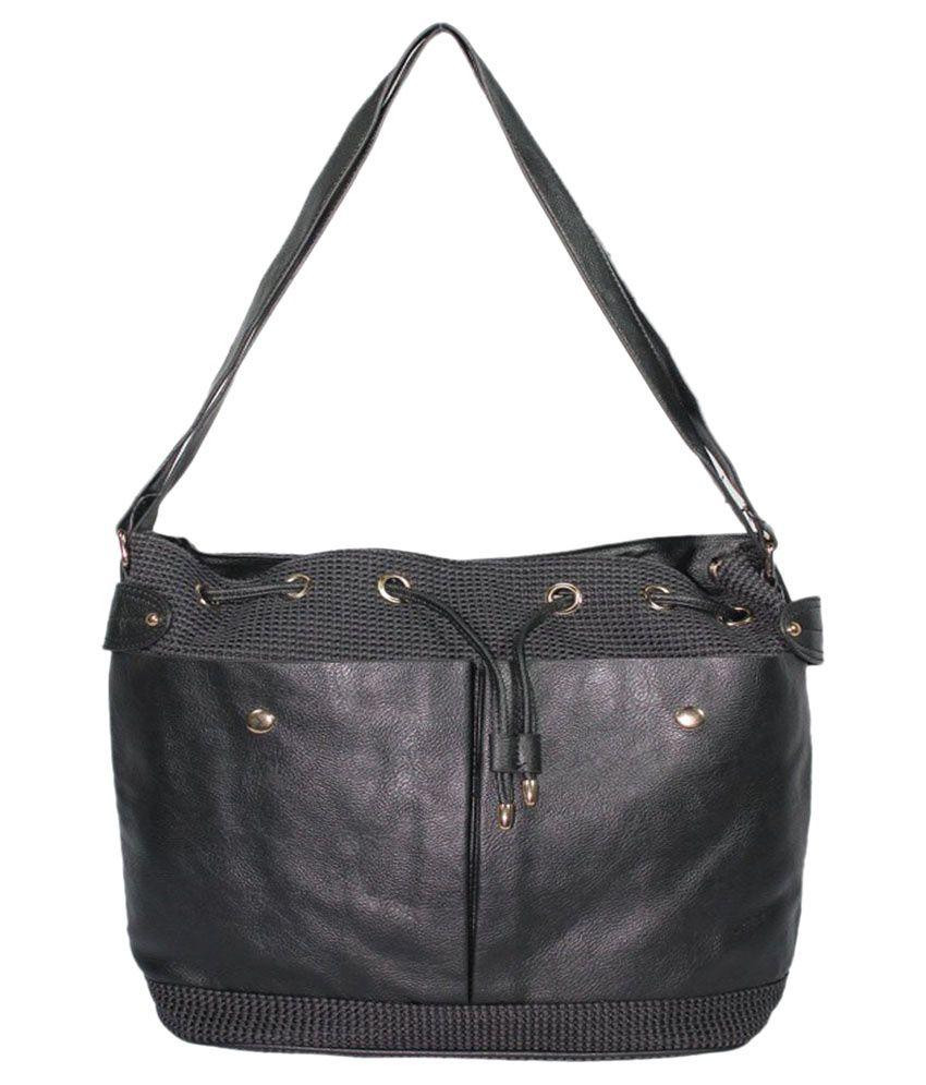 BagsHub Black Tote Bag