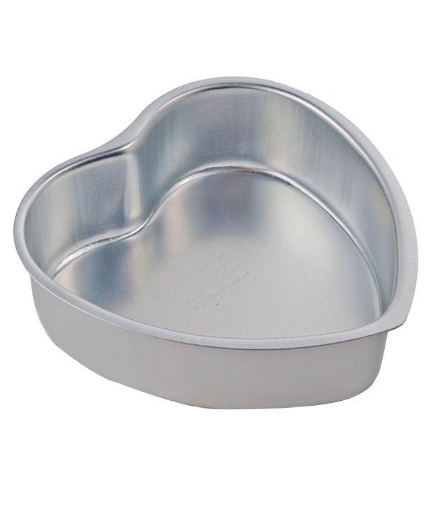 Creativities International Aluminium Heart Shaped Cake Pan