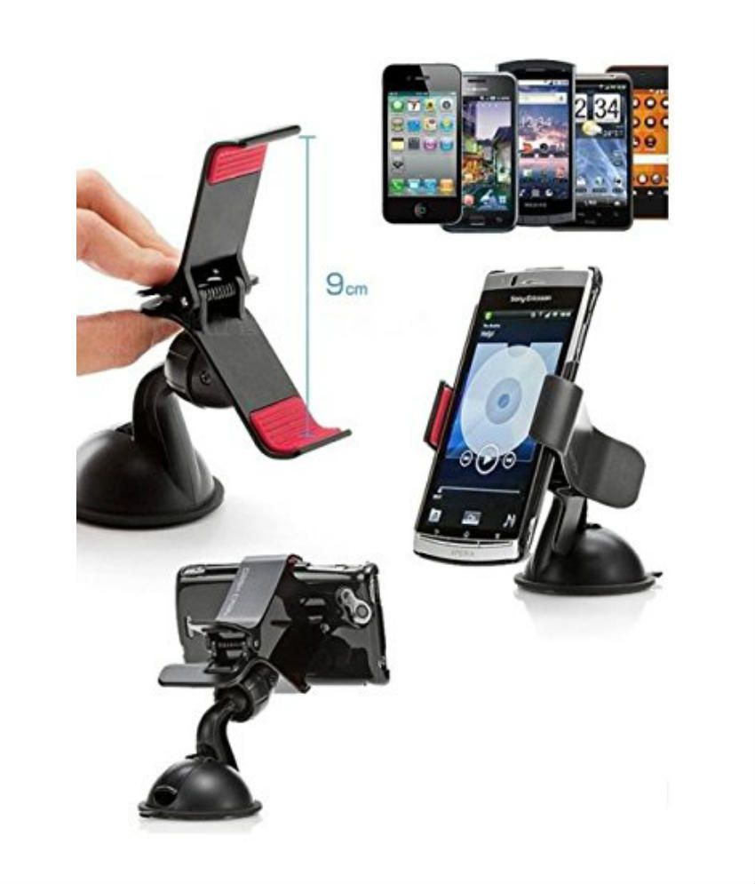 Car interior accessories india -  Car Mobile Holder With 360 Rotation