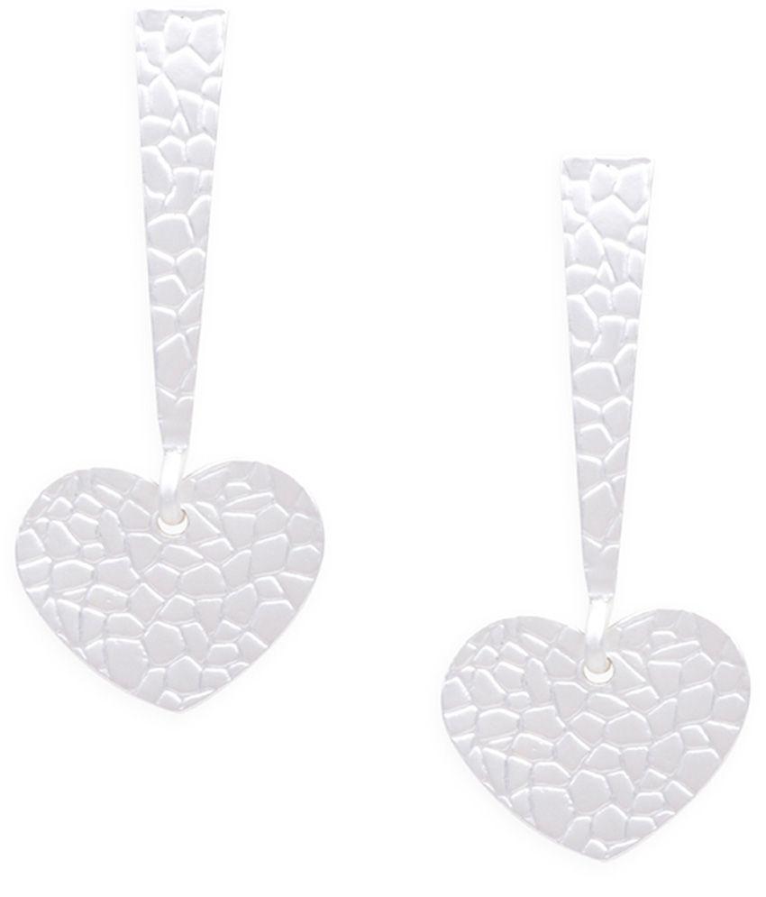 Ayesha Silver Drop Earring
