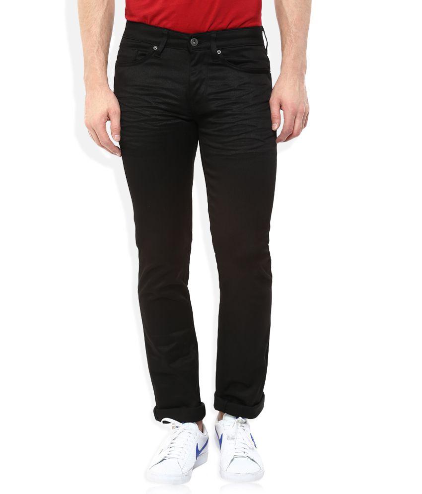 Celio Black Regular Fit Jeans