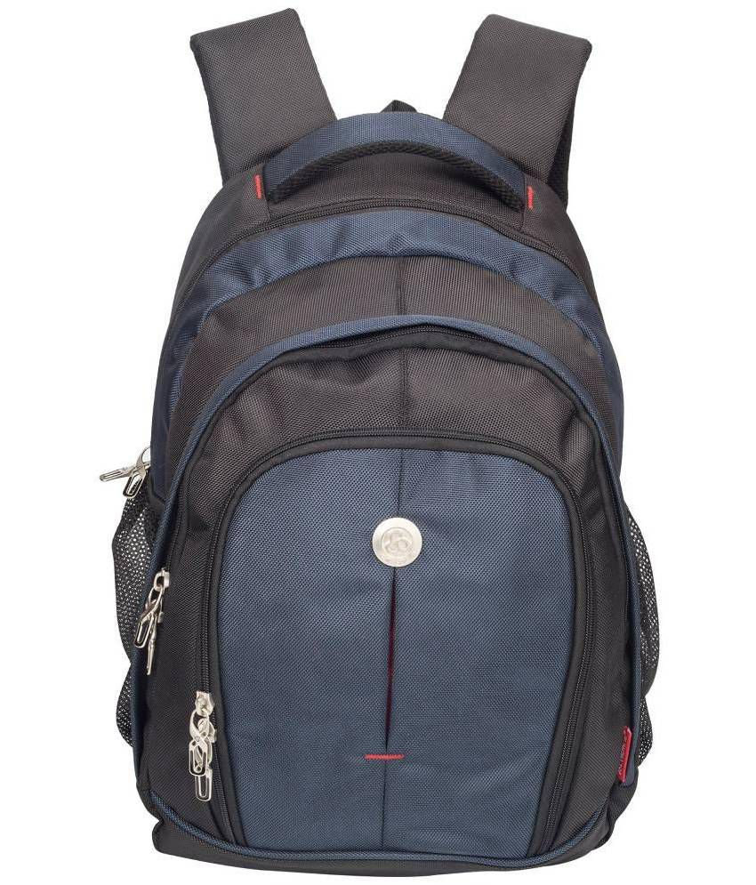 c76315575f13 Cosmus Renault Big Backpack for 17 inch Laptop - Travel Laptop Bag   Travel Backpack  Bag (Black   Navy Blue) - Buy Cosmus Renault Big Backpack for 17 inch ...