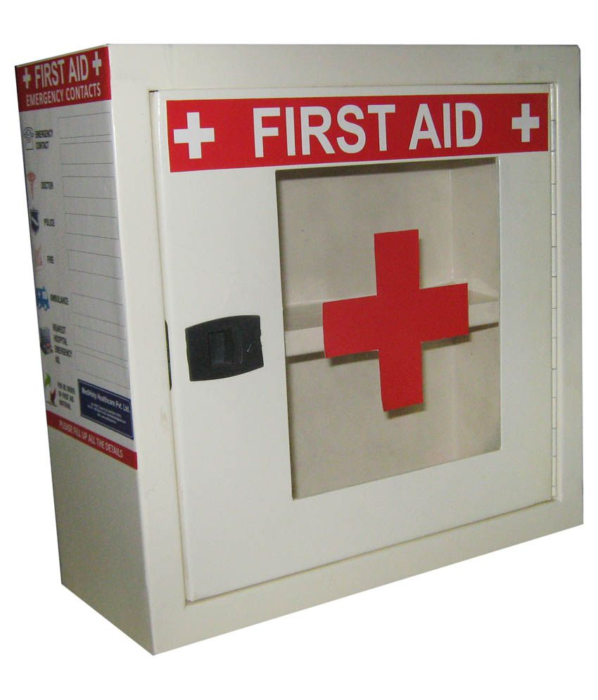Medihelp Metal First Aid Box Buy Online At Best Price In India
