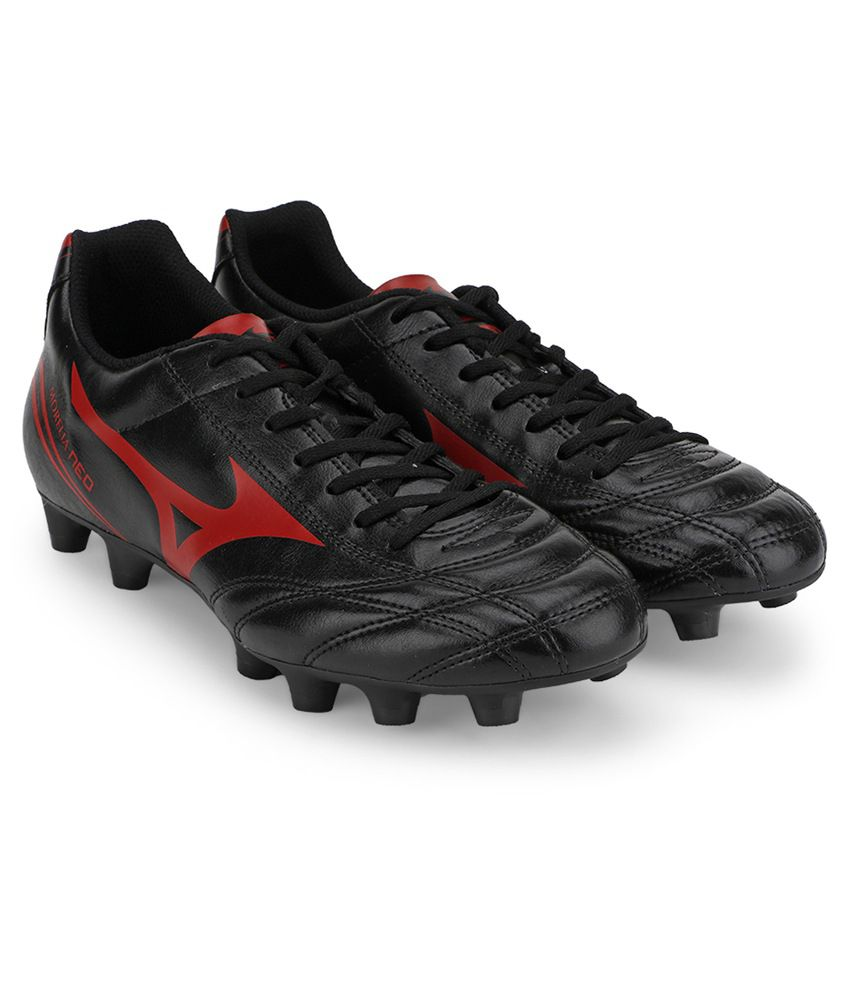 the best attitude 4f8c5 11f4c Mizuno Morelia Neo Cl MD Football Shoes (Black/Chinese Red)