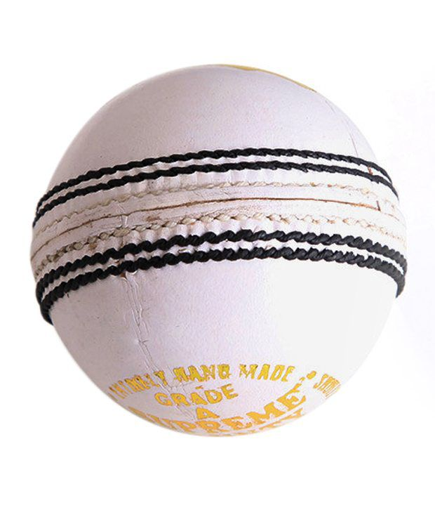 Wolfer White Leather Ball