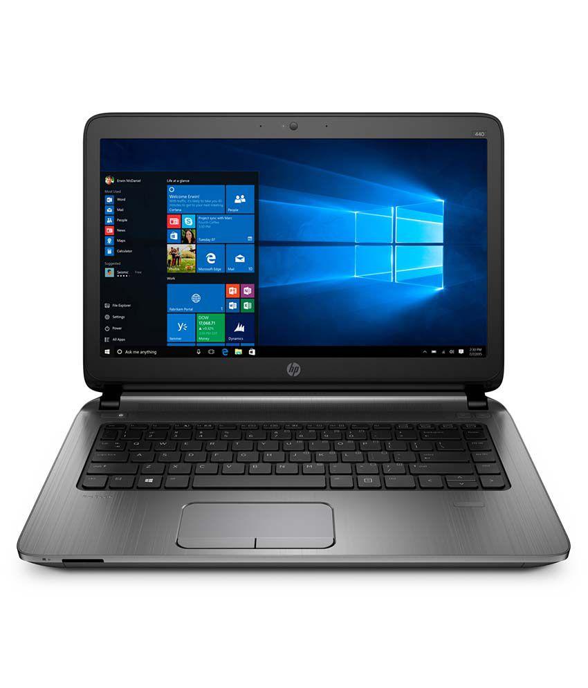 HP Probook 440 Notebook (T8A27PA) (5th Gen Intel Core i3- 4GB RAM- 500GB HDD- 35.56 cm (14)- DOS) (Gray)