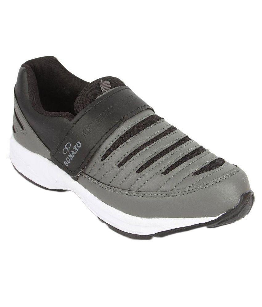 World Wear Footwear Gray Running Shoes