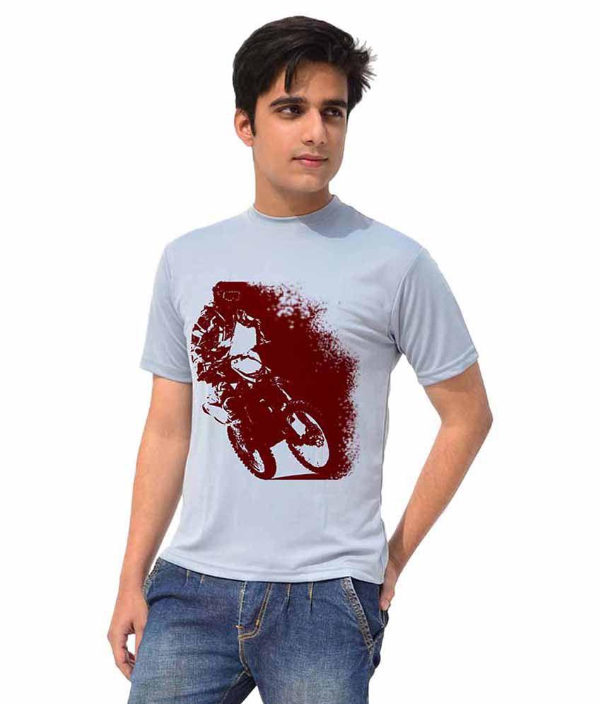 Iride Grey Round T Shirt