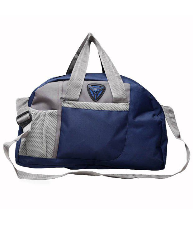 President s Blue Polyester Gym Bag