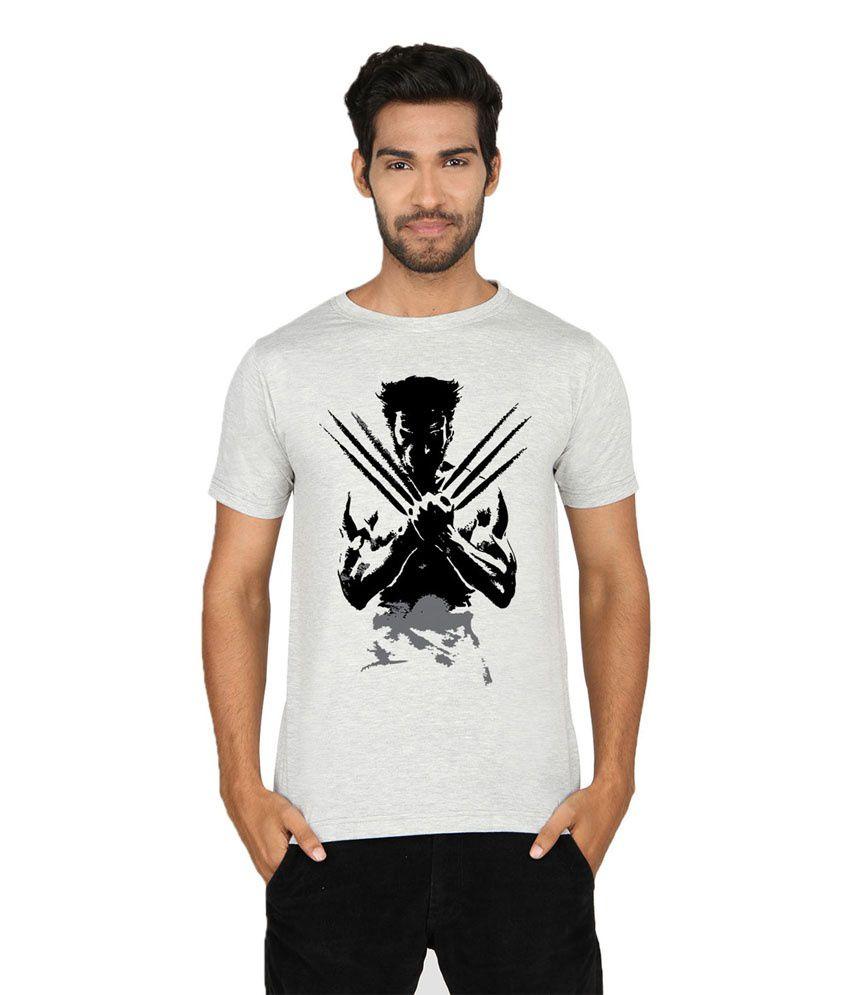 Private Bazar Grey Round T Shirt