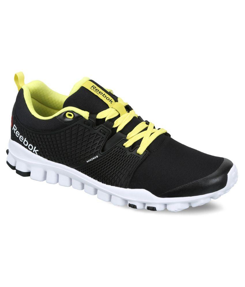 Black Sports Shoes Reebok
