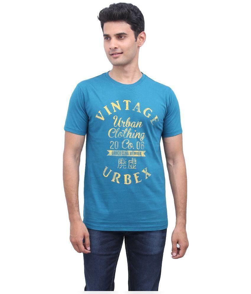 Urbantouch Blue Round T Shirt