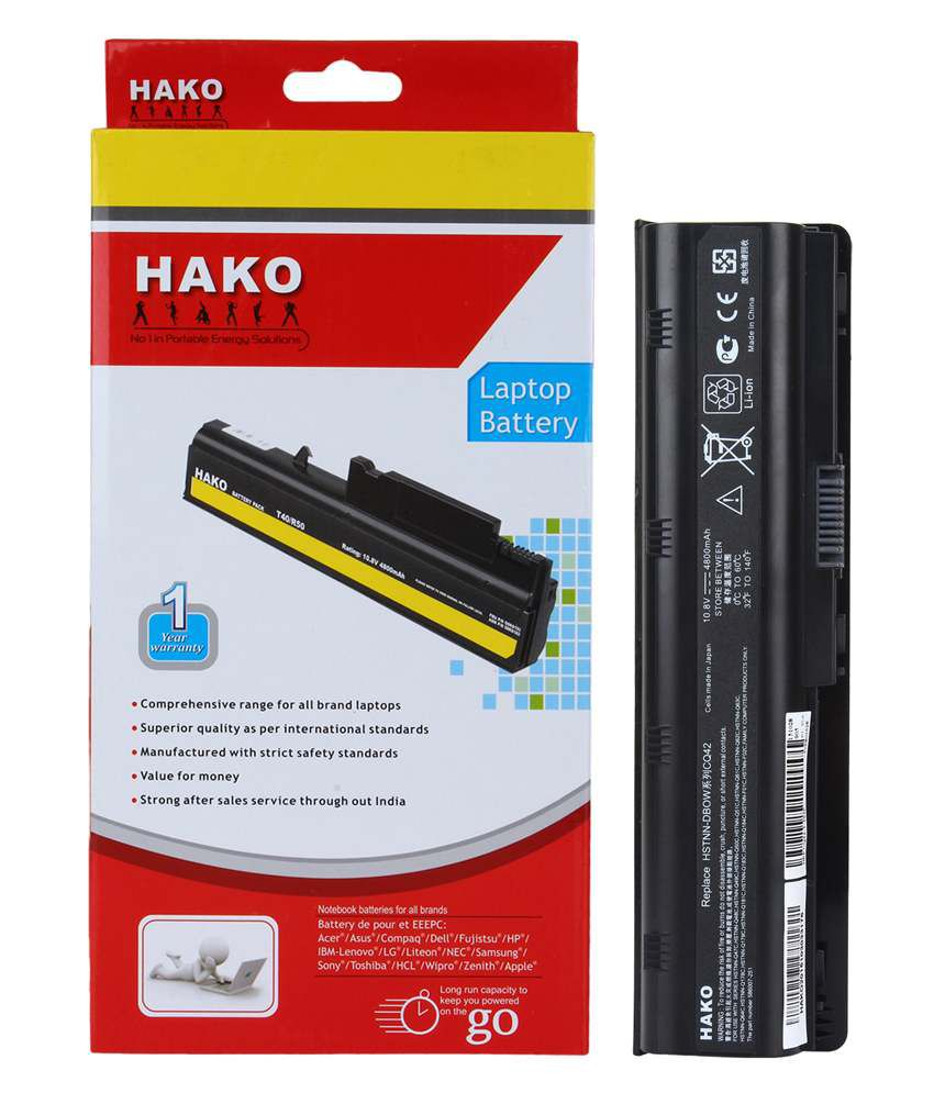 Hako Hp Compaq Pavilion G6-2205sd 6 Cell Laptop Battery