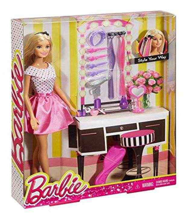 Barbie Doll With Hair Accessory Buy Barbie Doll With Hair