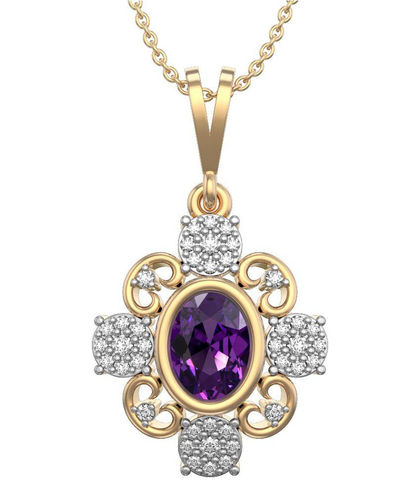 I love diamonds vatican splendor 18kt gold amethyst pendant buy i i love diamonds vatican splendor 18kt gold amethyst pendant mozeypictures Choice Image