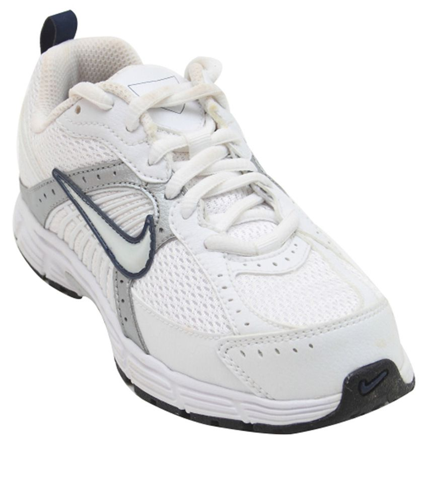 nike white sports shoes for boys available at snapdeal for