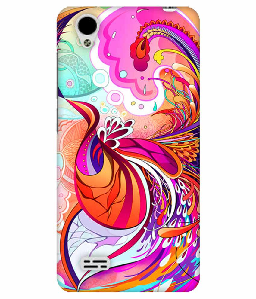 brand new 6d335 1c121 Fasheen Printed Back Cover Case For Vivo Y31 - Multicolor - Printed ...