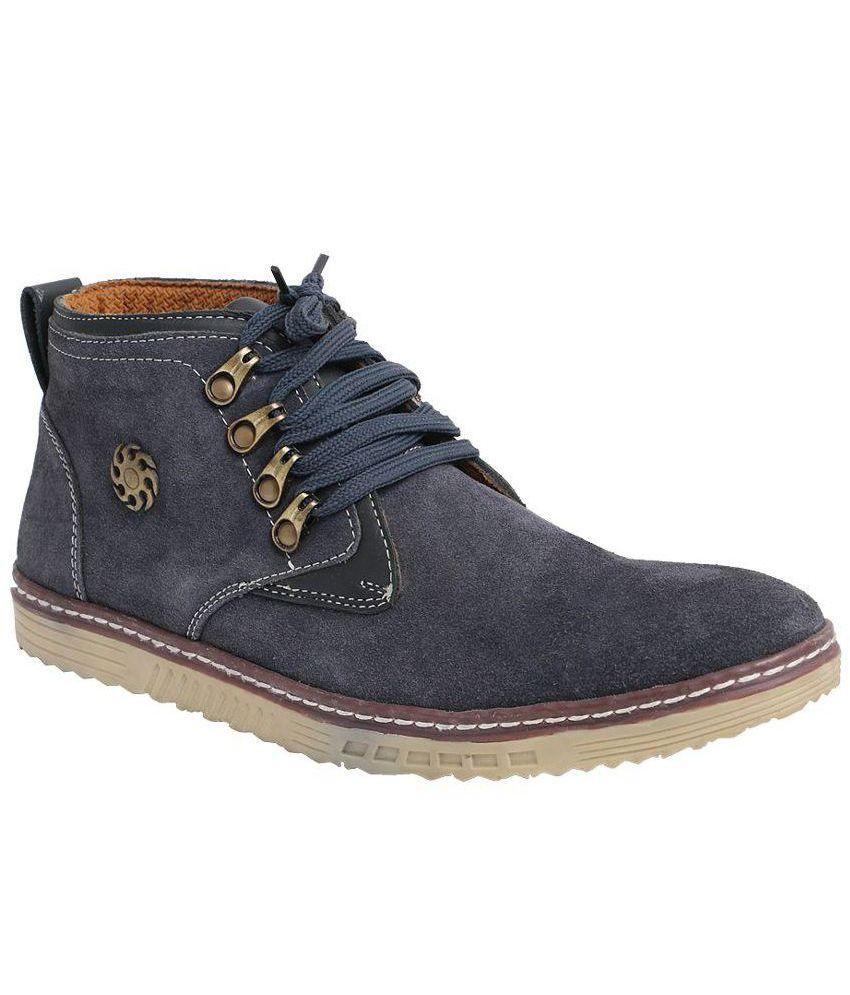 Indian Gorake Blue Boots