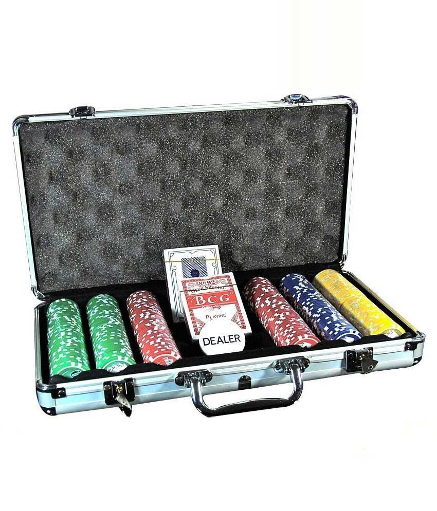 Pack N Buy Multicolor Poker Set