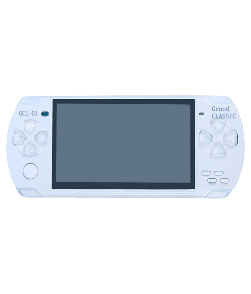 BS SPY White PSP Playstation with Preloaded Games