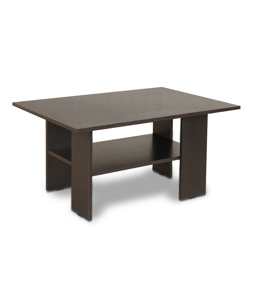 Crystal Furnitech Mazo Coffee & Center Table in Wenge Buy Crystal