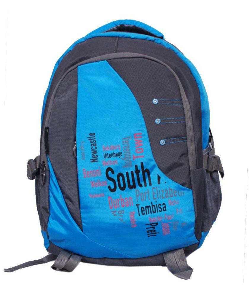 Stryker Blue Polyester Laptop Bag