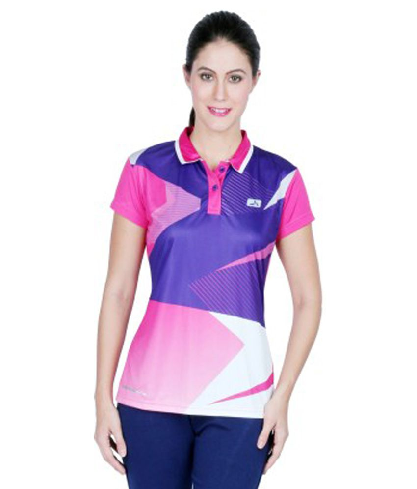 2a14076c890 Polo Neck T Shirts For Womens India | RLDM