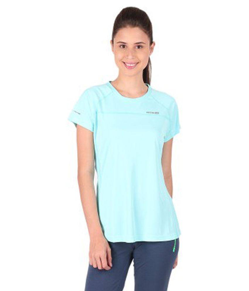 Vector X Solid Women's Round Neck T-Shirt