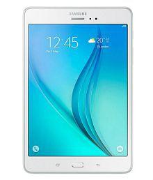 Samsung Tab A (4G + Wifi, Calling, Sandy White)
