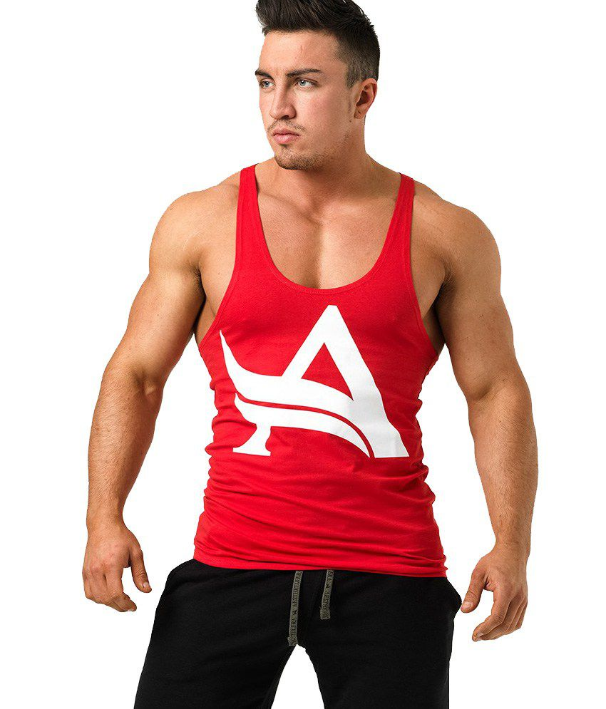 Asthetix Era Stringer Red/White