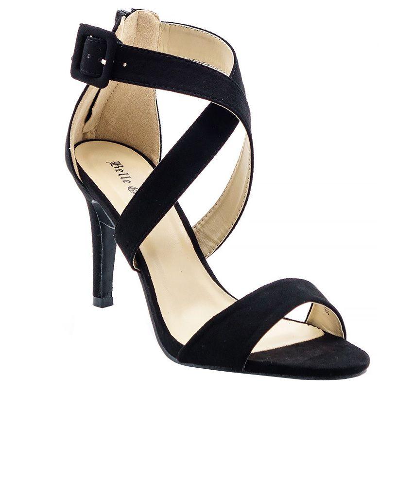 Belle Gambe Black Stiletto Heels