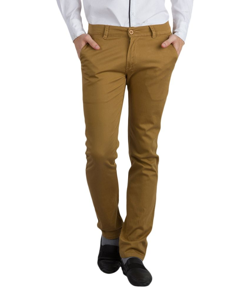 Bloos Jeans Khaki Slim Fit Chinos