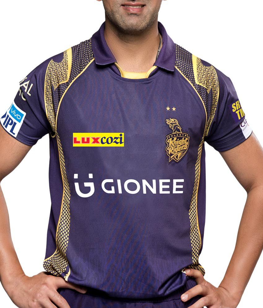 IPL T20 Knight Riders Official Jersey