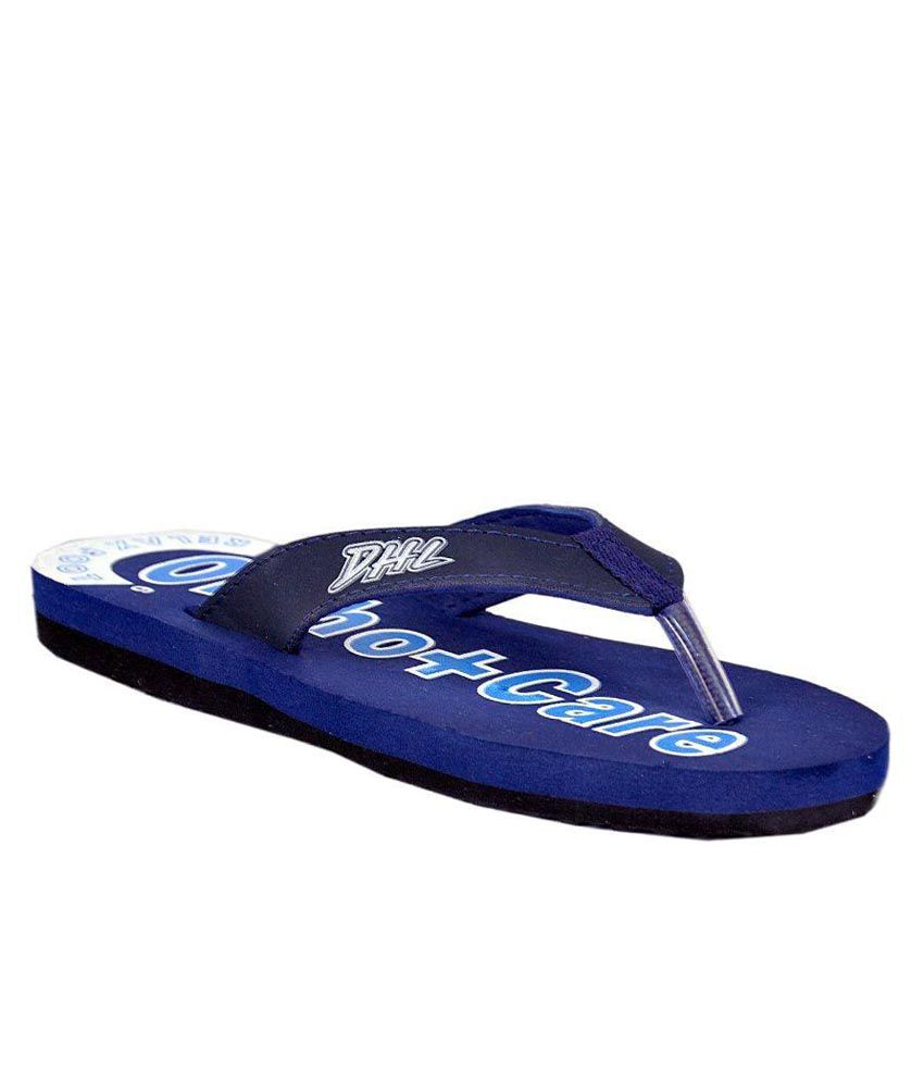 DHL Blue Slippers