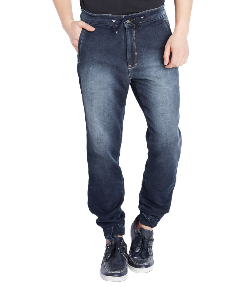 Parx Navy Regular Fit Jeans