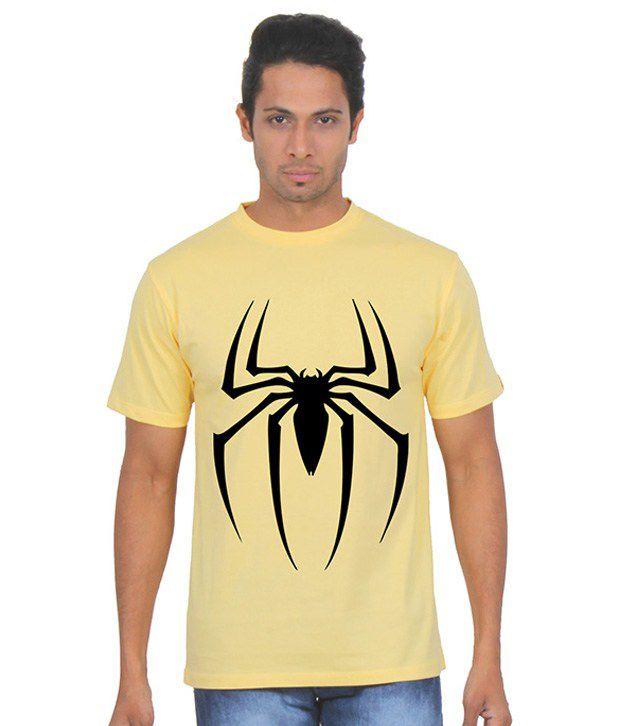Fanideaz Yellow Round T Shirt