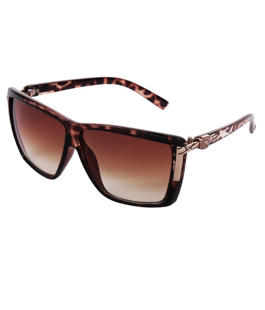 Praise Brown Wayfarer Sunglasses