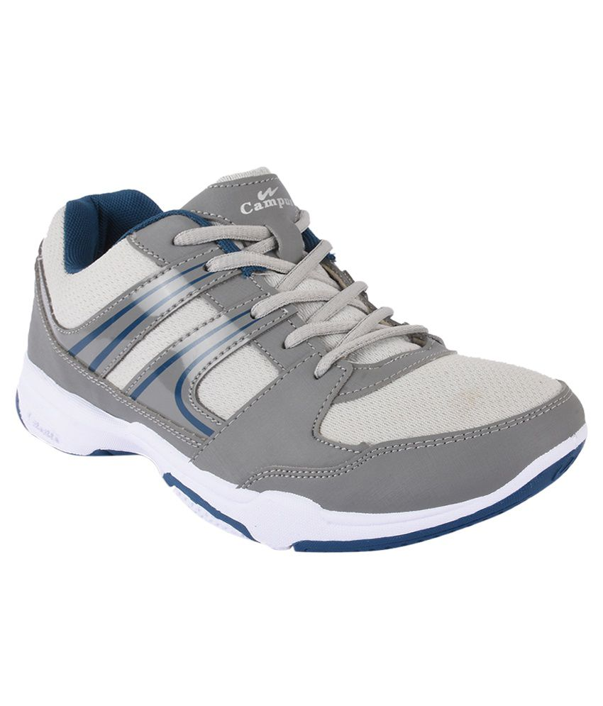 Campus Gray Running Shoes