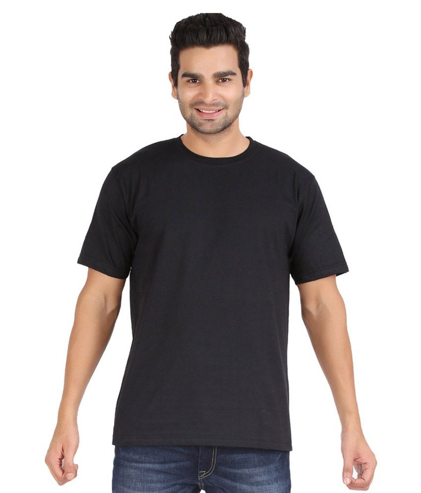 Guru Ji Black Round T Shirt Pack of 2