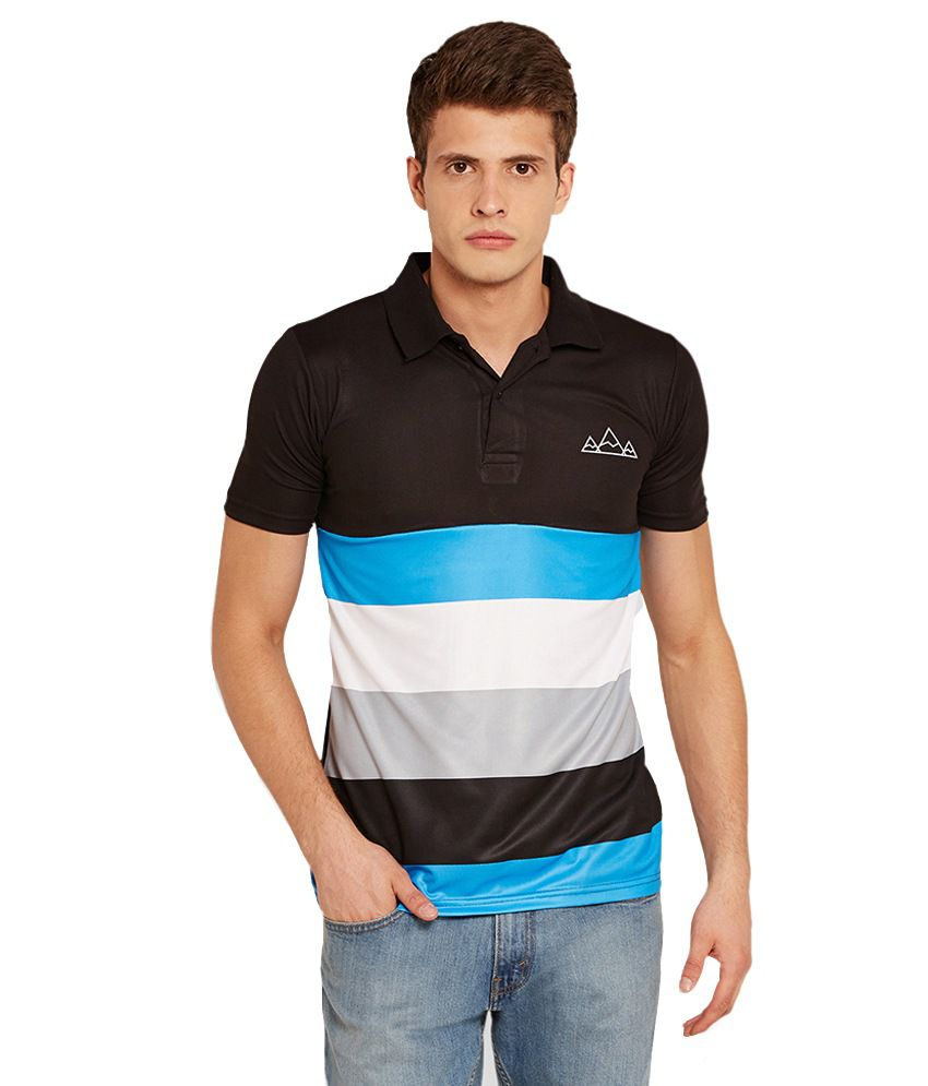 Henry and Smith Black Polos