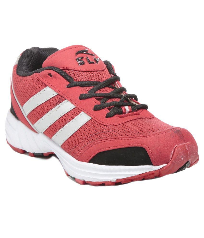SLV Red Running Shoes - Buy SLV Red