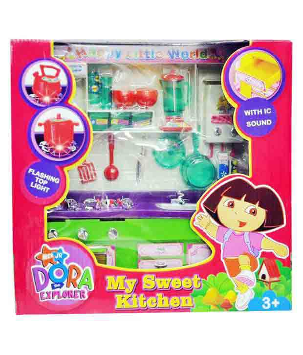 b4ab33cfa Zaprap Dora Kitchen Activity Set - Multicolor - Buy Zaprap Dora Kitchen  Activity Set - Multicolor Online at Low Price - Snapdeal