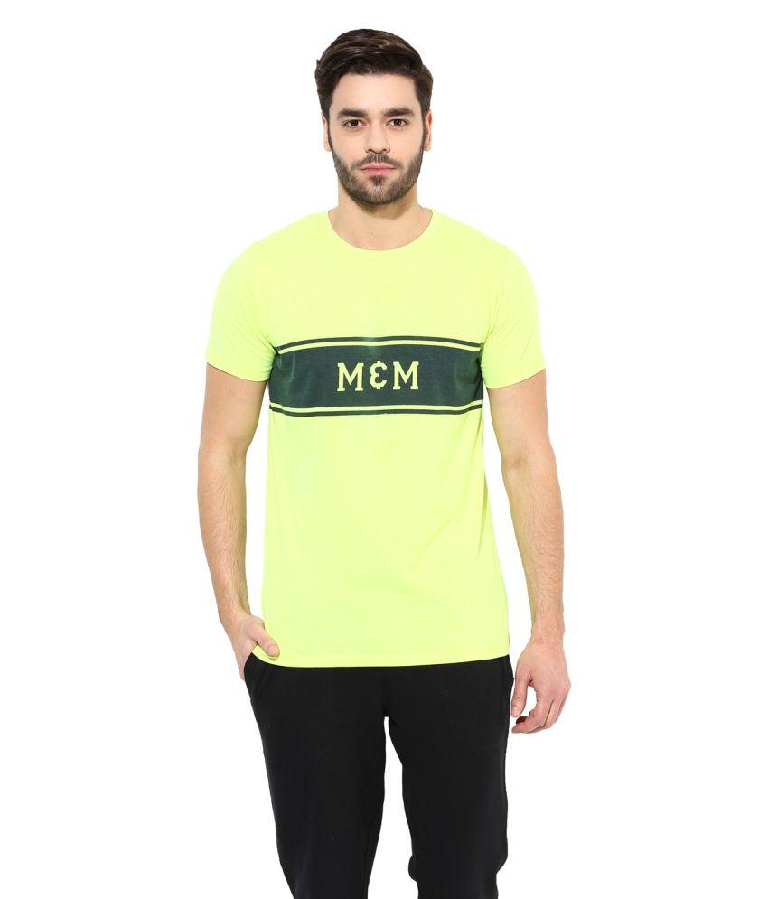 Monteil & Munero Green Round T Shirt